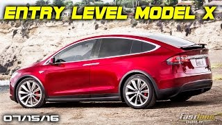 Entry-Level Tesla Model X, Porsche'S New V8, $30k To Service Ford Gt - Fast Lane Daily