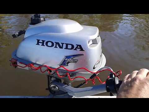Review of Honda 2 hp outboard engine