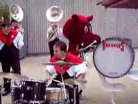 Pork Chop Plays The Drum