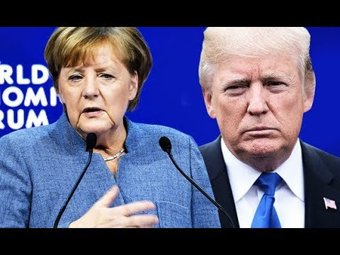 Merkel's attack on Trump: German leader tells Davos Stronger EU is needed to take on US