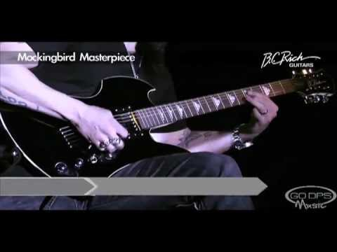 B.C. Rich Mockingbird Masterpiece Electric Guitar played by CJ Pierce from Drowning Pool