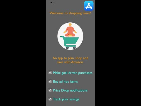 09c1792ae11ca0 Shopping Guru - Plan, Shop and Save with Amazon - Cloud Nine Apps