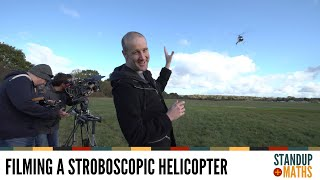 Can we film a stroboscopic helicopter?