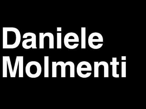 How to Pronounce Daniele Molmenti Italy Gold Medal Kayak Slalom London 2012 Olympics Video