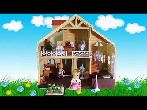 Домик загородный Happy Family для зверюшек / Country House For Small Animals