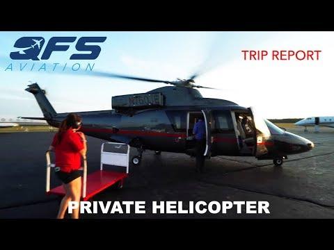 TRIP REPORT - Associated Aircraft Group - Sikorsky 76C - New York (TSS) to East Hampton (HTO)