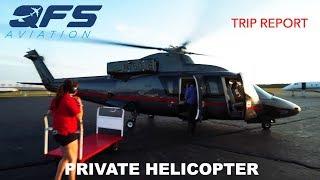 TRIP REPORT - Associated Aircraft Group - Sikorsky S-76B - New York (TSS) to East Hampton (HTO)