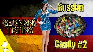 Germans Try Russian Candy For The First Time | Part 2 | Get Germanized And Friends