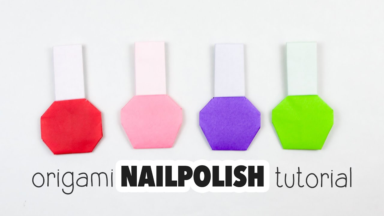how to make nail stickers with paper