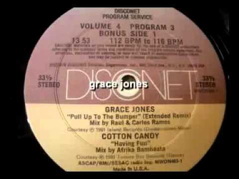 Grace Jones - Pull Up To The Bumper (Disconet Remix )