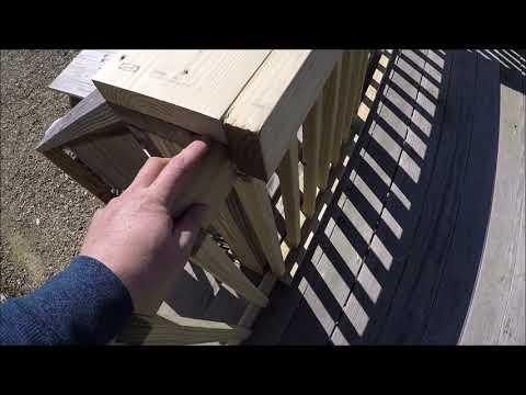 Sliding Deck Gate DIY Under $60