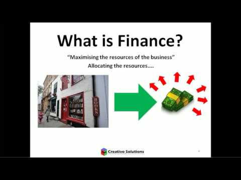 What is Finance? (Video 1 of Finance for Non-Financial Managers Series)