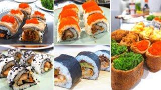 Cara Mudah Membuat Sushi Rumahan Seperti Chef Jepang! 5 Sushi favorit!