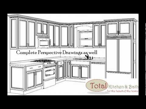 Total Kitchen & Bath L Shaped Kitchen Pricing Example.wmv - YouTube