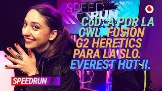 #Speedrun 16/01: CWL de Call of Duty y G2 x Heretics