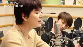 140407 KTR [Every Moment of You - My Love from Star OST] sang by KyuHyun