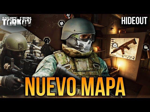 ¡NUEVO MAPA [RESERVE] Y HIDEOUT! | Escape From Tarkov