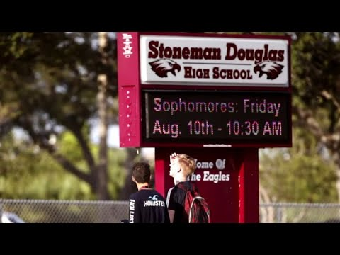 Parkland students battle nerves on first day of school