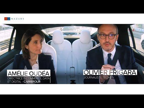 Pitch In The Cab EP05 - Amélie Oudéa, Directrice e-commerce, data et digitale du Groupe Carrefour