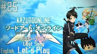 Sword Art Online Lost Song Let