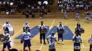 Westover HS-Drumline(Westover Spring Jamboree 2017)