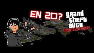 """ASÍ ES JUGAR GTA LIBERTY CITY STORIES """"EN 2D"""" [RETO GTA]"""