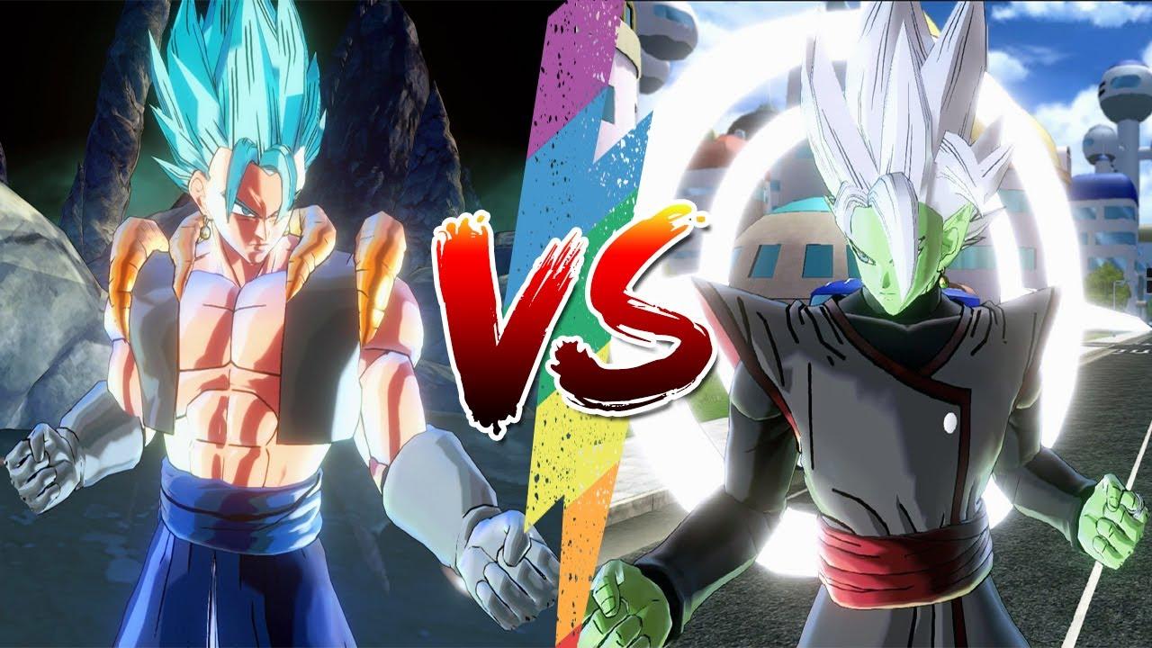 Gogeta Kết Hợp Vegito Đối Đầu Fused Zamasu - Dragon Ball Super Song Đấu