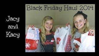 Black Friday Shopping Haul 2014 ~ Jacy and Kacy
