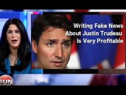 PM Justin Trudeau FAKE NEWS Spread By Editor Of Toronto Sun & Called Out By Poli Sci Prof
