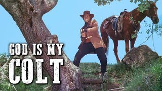 God Is My Colt | WESTERN MOVIE | Full Length | Cowboy Film | English | Spaghetti Italo Western