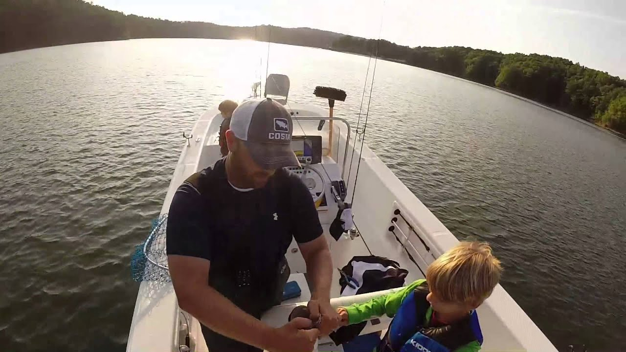 Carters lake spotted bass fishing youtube for Carters lake fishing report