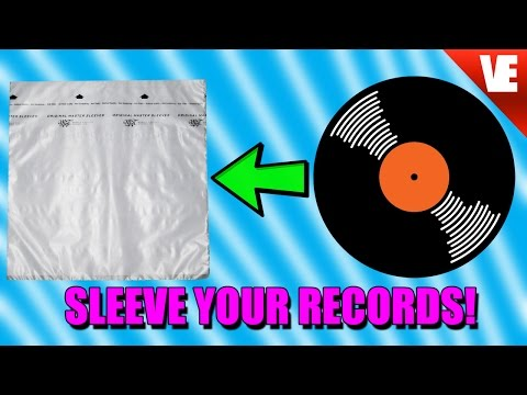 How to SLEEVE Your Records!