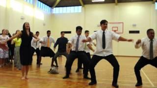 Christian's Friends and Family Bid Farewell Maori Style