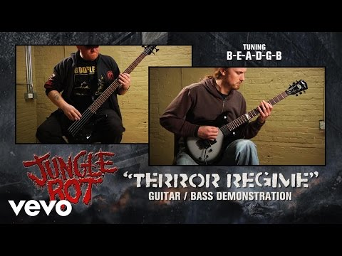 "Jungle Rot - ""Terror Regime"" Guitar / Bass Demonstration"
