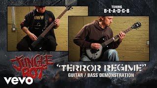 Jungle Rot - 'Terror Regime' Guitar / Bass Demonstration