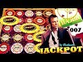 ★AWESOME BIG WIN!★ MAX BET $5.40 CASINO ROYALE 007 JAMES ...