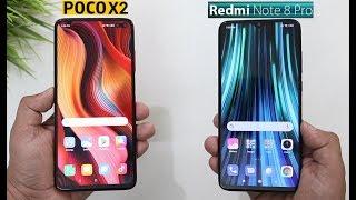 Redmi K30 Vs Redmi Note 8 Pro SpeedTest And Camera Comparison