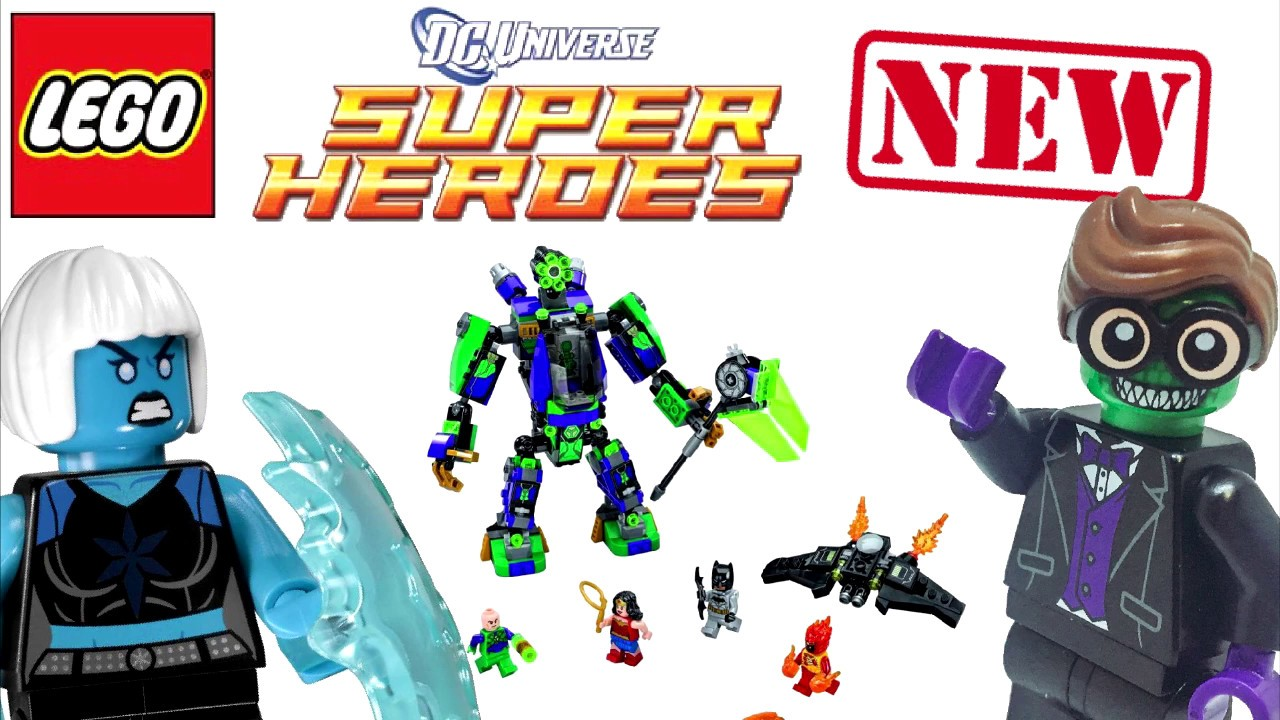 Lego DC Super Heroes 2018 Sets Revealed