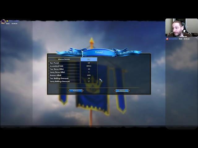 Majesty 2 - Single Missions (Live Stream) [ 02 - Mind Games ]