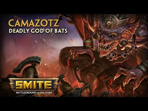 smite---god-reveal---camazotz,-deadly-god-of-bats