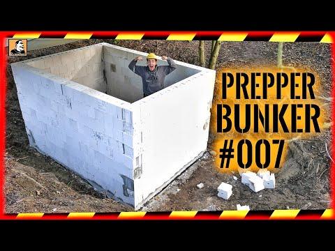 ???? PREPPER BUNKER #007  | Fast FERTIG | TÜR VERGESSEN?! | Die WÄNDE stehen! | Survival Mattin ????