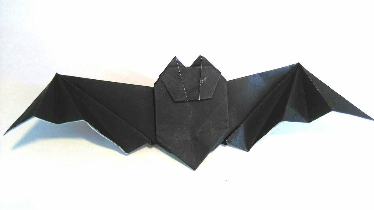 Origami tutorial how to fold an easy halloween origami bat youtube origami tutorial how to fold an easy halloween origami bat jeuxipadfo Gallery
