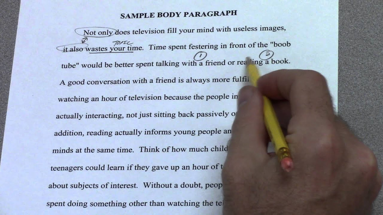 homework tips essay writing five paragraph