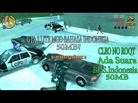 Full Download] Cuma 60mb Gta 3 Lite Mod Bahasa Indonesia Ada Suara