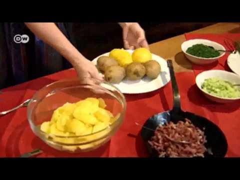 Keine Party ohne Kartoffelsalat   Euromaxx - Deutsche Welle - Serie :  Guten Appetit Deutschland