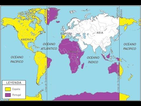 El Tratado de Tordesillas - El reparto del Mundo