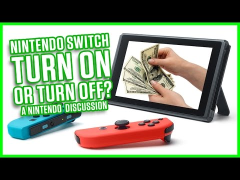 NINTENDO SWITCH - TURN ON OR TURN OFF? | A Nintendo Discussion