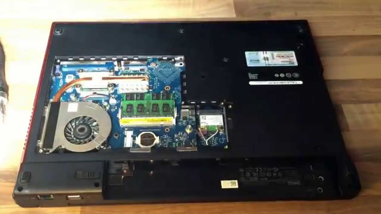 dell vostro 1720 disassembly disassemble clean vent cpu replace l fter reinigen auseinander. Black Bedroom Furniture Sets. Home Design Ideas