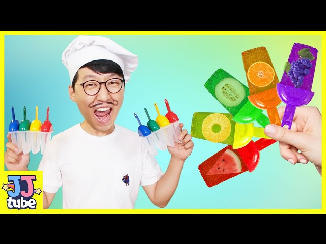 맛있는 과일 아이스크림 송 인기동요 영어공부해요. Fruite Ice cream alphabet song Nursery Rhyme for kids [제이제이 튜브-JJ tube]