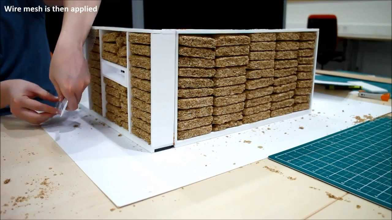 how to build a straw house using modcell prefabricated method youtube. Black Bedroom Furniture Sets. Home Design Ideas